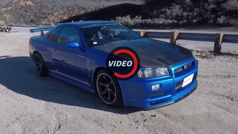 Driving A Nissan R34 Skyline GT-R In The US Is Like Riding A Unicorn