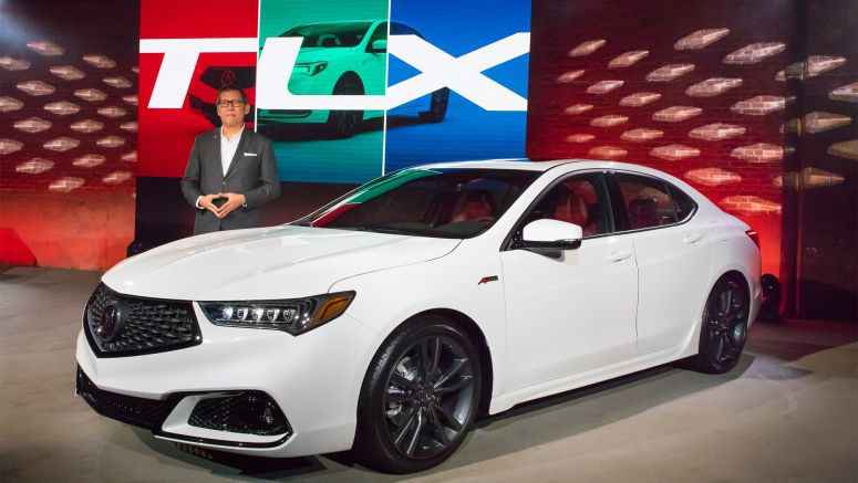 2018 Acura TLX Makes World Debut with Aggressive, Sporty Design