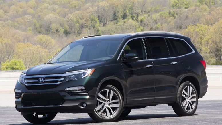 Honda may build a two-row Pilot crossover on a shorter wheelbase