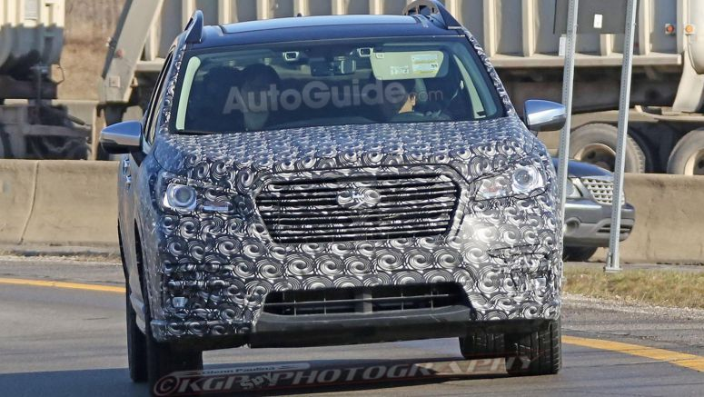 Subaru Ascent 3-Row Crossover Concept to Debut Next Week