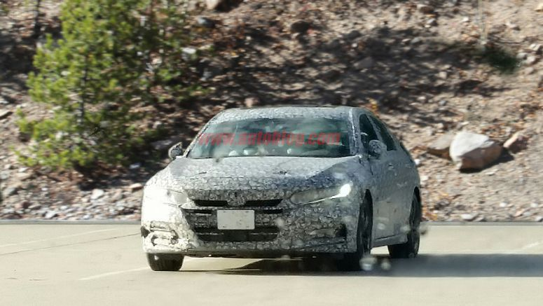 Next-gen Honda Accord looks like a grown-up Civic