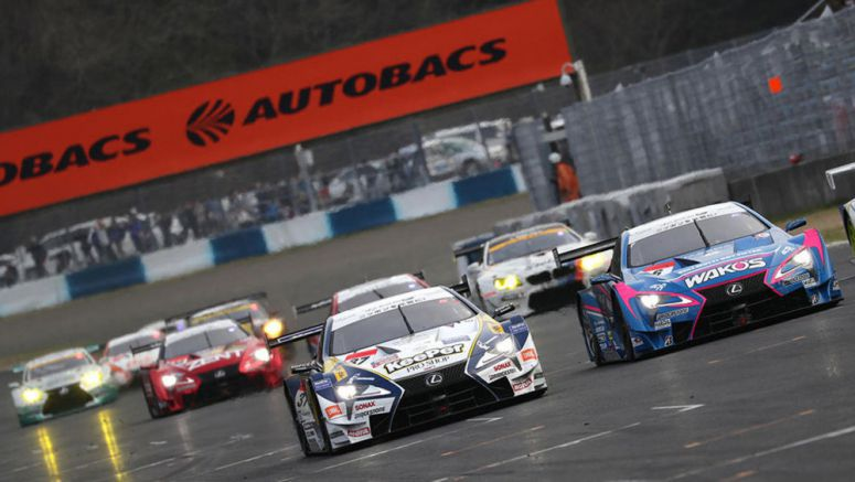 Weekend Race Results: Lexus LC GT500 Takes Top Six Positions in Super GT