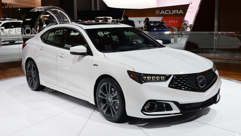 2018 Acura TLX gets sporty A-Spec trim with mid-cycle refresh