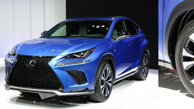 Photo Gallery: The 2018 Lexus NX at the Shanghai Motor Show