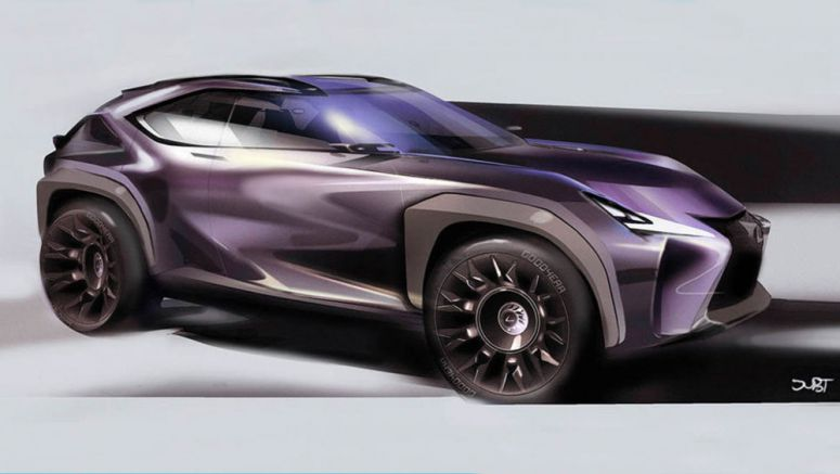 Video: Designing the Lexus UX Crossover Concept