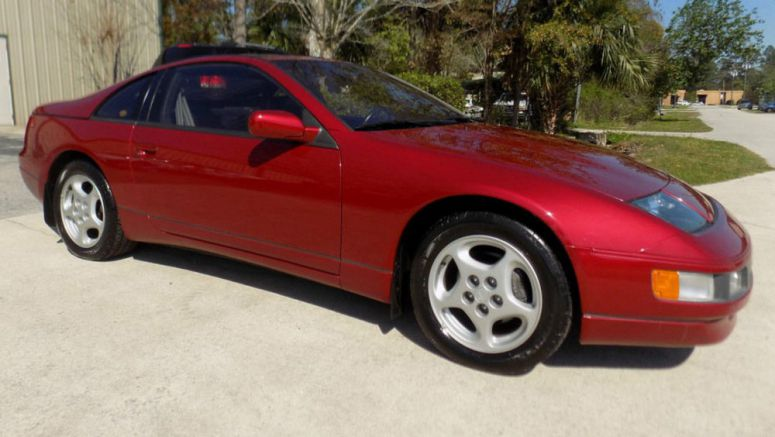 This 1990 Nissan 300ZX Isn't A Turbo, But It Has A Manual And Less Than 5k Miles