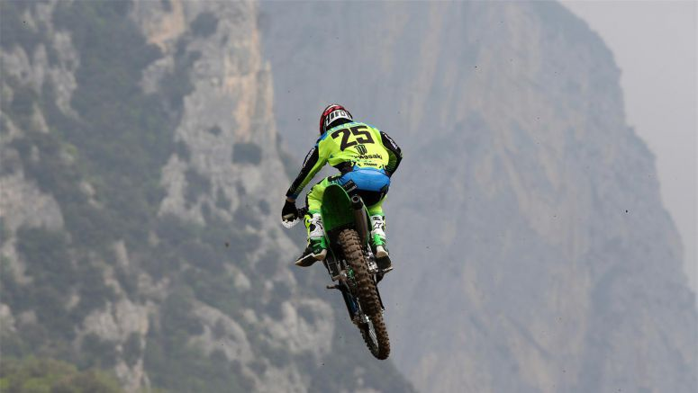 Kawasaki: Clement Desalle Sixth in Italy