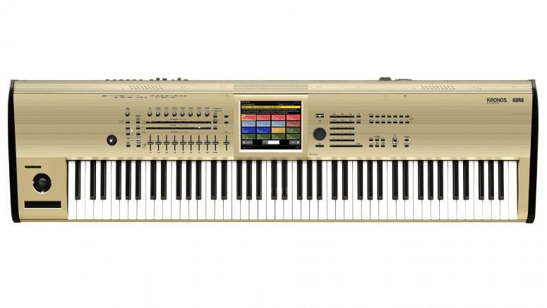 KORG KRONOS is currently accessible in a constrained release gold-shading model