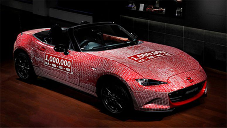 One-Millionth Mazda MX-5 Comes Home