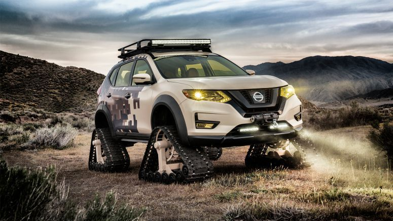 Nissan Rogue Trail Warrior Project sets tracks for adventure, makes debut at 2017 New York