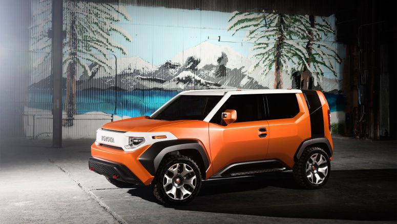 Toyota Brings Back the Spirit of the FJ