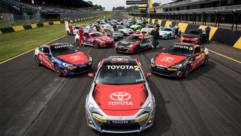 Young Gun Grid for Toyota 86 Racing Series