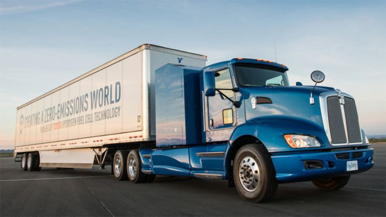 Toyota puts fuel cell trucks to work at Port of Los Angeles