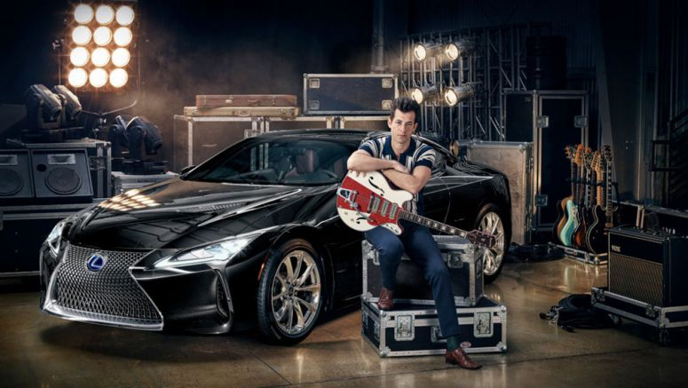 Lexus Collaborates with Mark Ronson on New LC Coupe Campaign