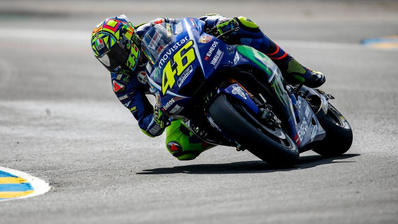 Soggy Start to Le Mans Weekend for Movistar Yamaha MotoGP