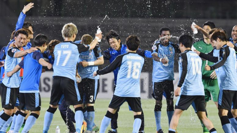 Soccer: Kawasaki hammer Eastern to reach last 16 of ACL
