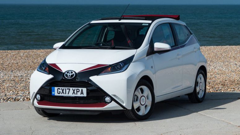 Toyota X-Claim Limited Edition Completes The Aygo Family In UK