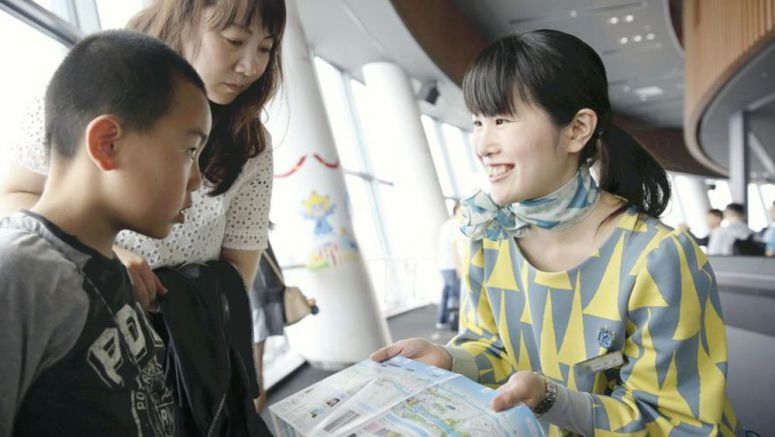 Guide shares sweet stories from Skytree