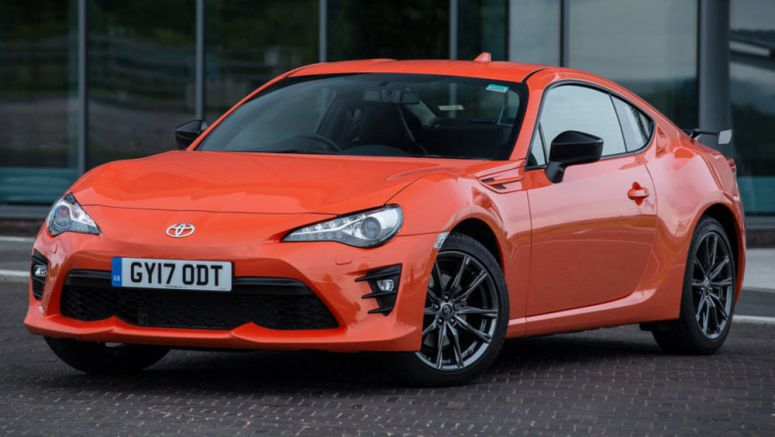Toyota GT86 Club Series Orange Edition Goes On Sale In UK From £28,800