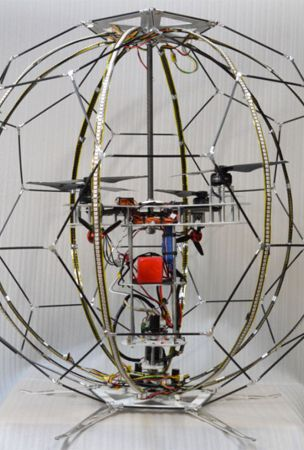 NTT Docomo Develops Flying Spherical Display Using Drone
