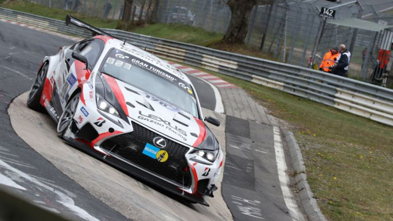 Lexus RC 200t to Race at 24 Hours of Nürburgring