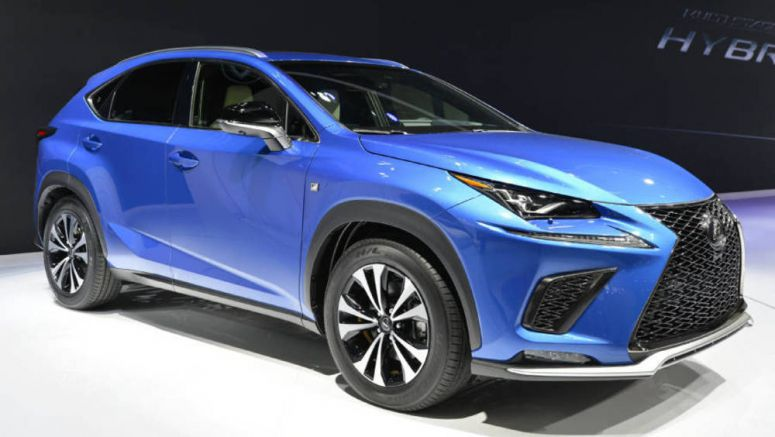 Toyota Remodels 'Lexus NX' Compact SUV