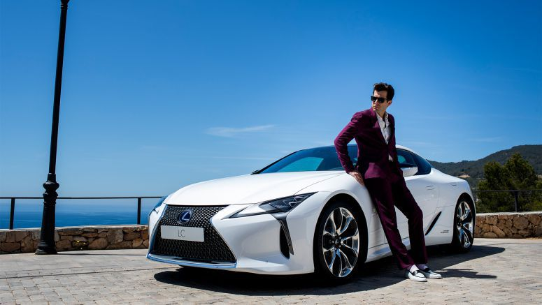 Lexus and Mark Ronson Invite Fans to Produce Their Own Track to the Ultimate Lc Driving Experience
