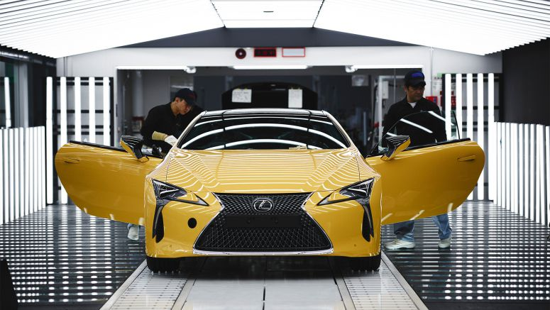 Lexus Launches New Lc Production for Europe