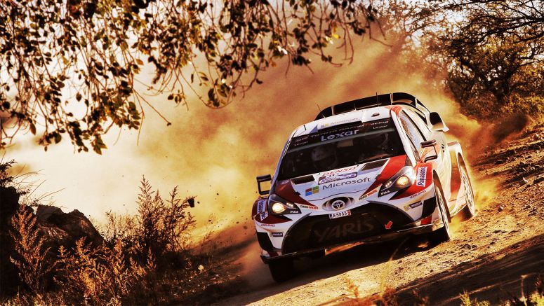 "Toyota Driver Set for ""Rally of His Life"""
