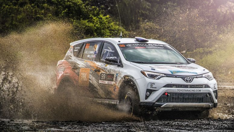 Toyota's Rav4 on Track for Rally Title