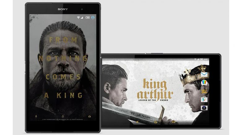 Sony: King Arthur: Legend Of The Sword theme launches on Xperia Lounge