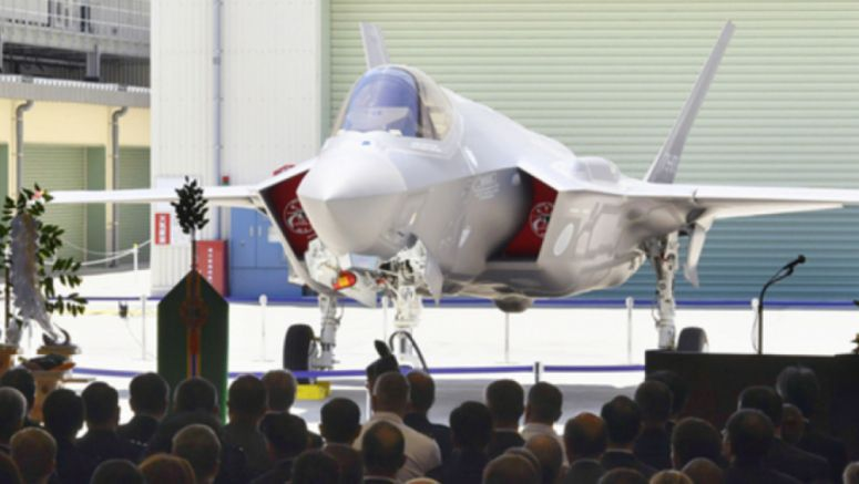 1st Japan-assembled F-35 fighter unveiled