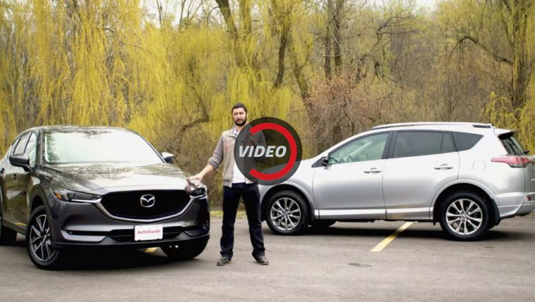 All-New Mazda CX-5 Looks Confident In Fight Against Toyota RAV4