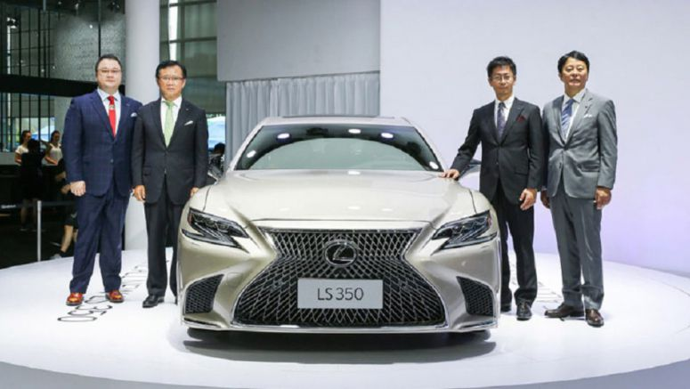 Lexus LS 350 Arrives In China With A Naturally Aspirated V6
