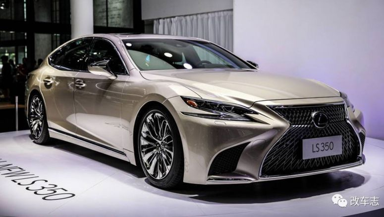 V6-Powered Lexus LS 350 Debuts at China Auto Show