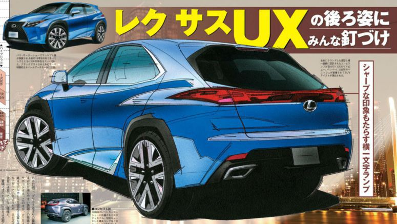 Rumor: Lexus UX Subcompact Crossover Arriving October 2018?