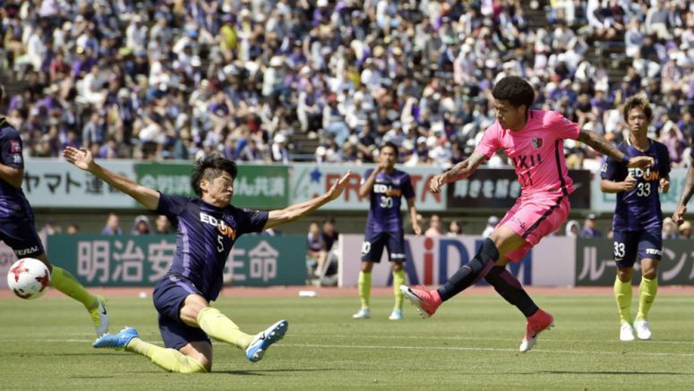 Soccer: Kashima rebound from ACL exit, give new boss Oiwa winning start