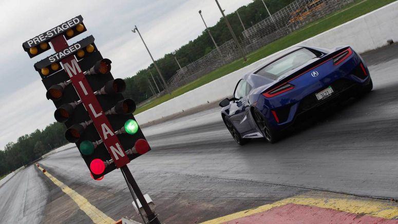 Acura NSX's Launch Control System Will Scramble Your Organs