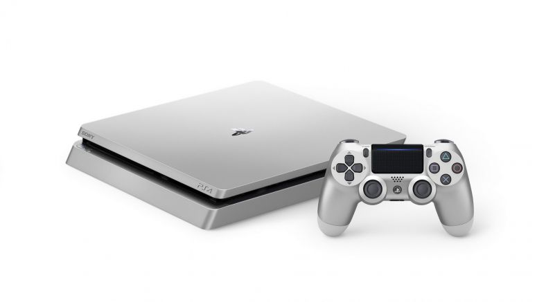 Silver PlayStation 4 Slim Launched As Well