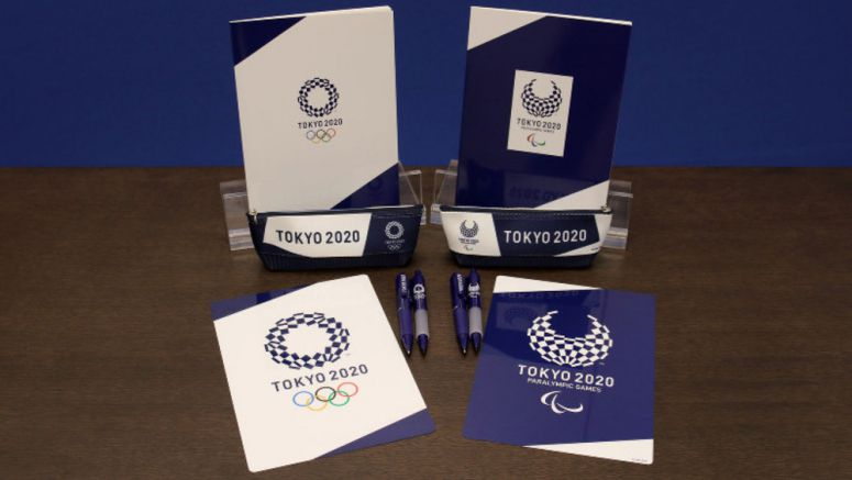 Official Tokyo 2020 Olympic and Paralympic stationery to go on sale