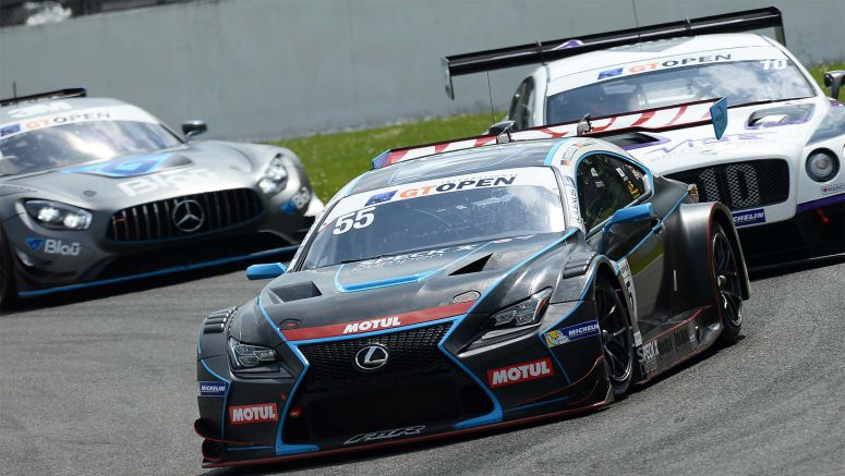 Double Win for Lexus Rc F Gt3 Teams