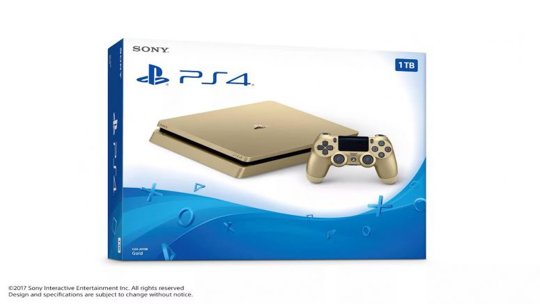 Sony Confirms Limited Edition Gold PlayStation 4 Slim