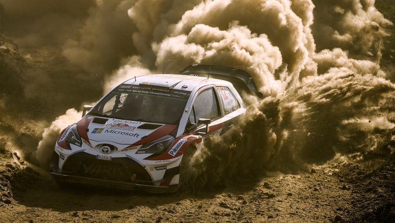 Toyota Shines in Tough Sardinia Rally