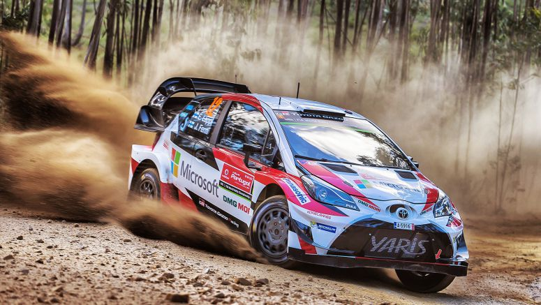 Toyota Accelerates Yaris Wrc Program