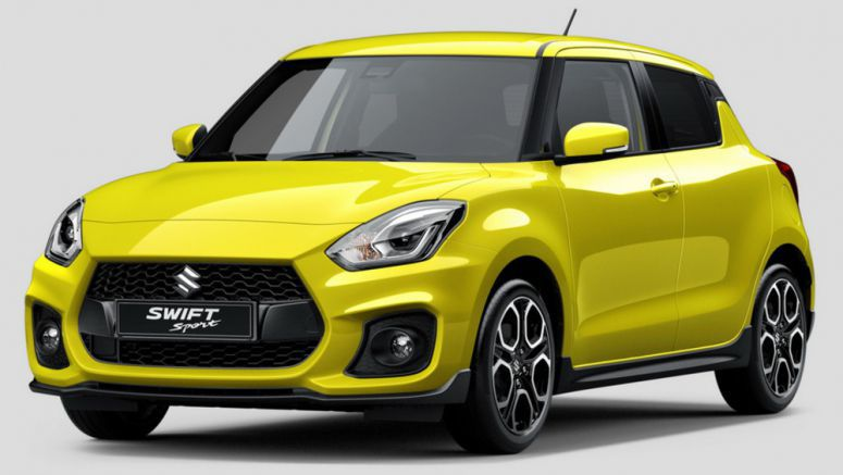 Suzuki Reveals All-New Swift Sport, Confirms Frankfurt Show Debut