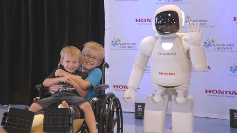 "Honda to Donate Funds for Every ""Like"" of New Video Featuring Children and ASIMO"