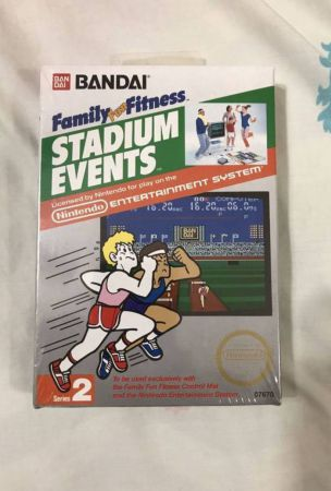 Rare, Sealed NES Game 'Stadium Events' Sells For $42,000