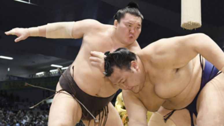 Sumo: Hakuho edges closer to all-time wins record in Nagoya