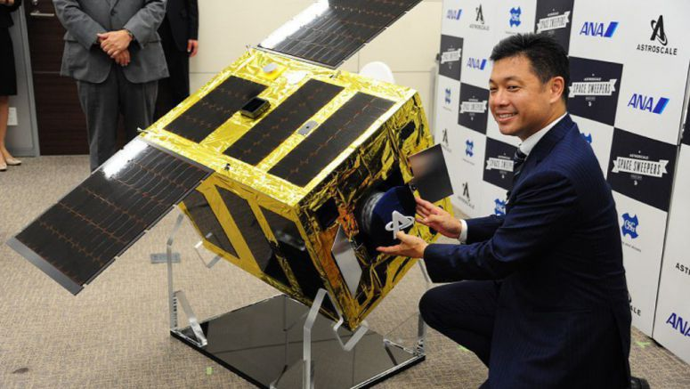 Company to test space-debris-retrieval satellite in 2019, aim to commercialize by 2020