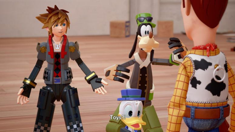 Toy Story Coming to Kingdom Hearts III
